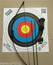 Bow and Arrow Set for Kids Archery Hunting Practice W Protectors and Safe Arrow