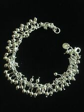 Bracelet Stirling Silver 925 Boho Hippie Tribal Belly Dance Gypsy Bohemian