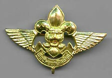 SCOUTS OF THAILAND - Boy & Girl Scout AIR SCOUTS Metal Hat Pin Patch