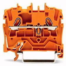 2001-1202 Wago 2-Leiter-Durchgangsklemme  orange 0,25 - 1,5 mm² 8kV / 800V 18A
