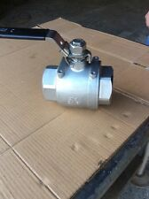 "2-1/2"" Stainless Steel Ball Valve 316 WOG 1000"