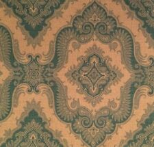 MANUEL CANOVAS Sultana Turquoise Natural Linen Remnant New