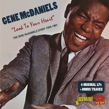 GENE MCDANIELS - LOOK TO YOUR HEART 2 CD NEU