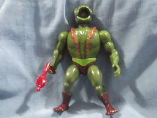 VINTAGE HE MAN MASTERS OF THE UNIVERSE FIGURE - KOBRA KHAN - COMPLETE EX COND
