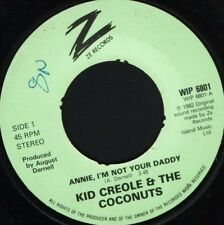 "KID CREOLE annie i'm not your daddy 7"" WS EX/ uk wol noc"