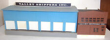 Vintage HO Scale Valley Shippers Inc. Building - VGUC