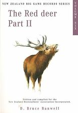 BANWELL DEER BOOK THE RED DEER PART 2 ZEALAND TROPHY RECORDS VOL 6 bargain