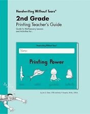 Handwriting Without Tears 2nd Grade Printing Teacher's Guide - Printing Power, J