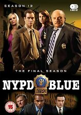 NYPD Blue . The Complete Final Season 12 . Staffel . 5 DVD . NEU . OVP