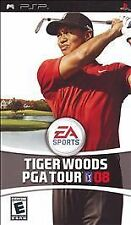Tiger Woods PGA Tour 08 (Sony PSP, 2007) GOOD