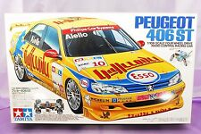 VINTAGE RARE TAMIYA 1/10 RC PEUGEOT 406ST Model Kit #58212 NEW