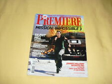 PREMIERE N°349 mars 2006 mission impossible 3 Tom Cruise Silent Hill