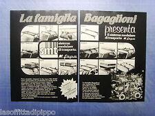 QUATTROR981-PUBBLICITA'/ADVERTISING-1981- FAPA  (disegno JACOVITTI) -2 fogli