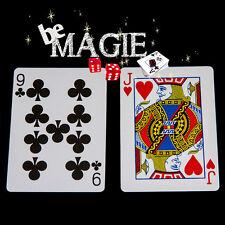 Carte Spéciale Bicycle - Double Face -  Tour de magie