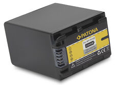 Battery For SONY HDR-CX110E HDR-CX115E NP-FV100, InfoChip