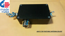 End Fed Dipole 80-6 meter Portable HF Antenna Matchbox System.     WATCH VIDEO