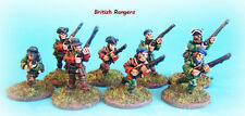 French & INDIAN WAR-British Rangers schermaglie x 6