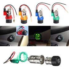 Waterproof Car Motorcycle Cigarette Lighter Power Socket Plug Outlet Useful 12V