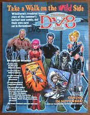 DV8 Trading Cards Sell Sheet (no cards) Wildstorm's Troubled Teens
