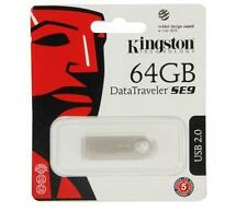 Kingston 64GB USB DataTraveler SE9 64G USB 2.0 Flash Pen Drive DTSE9H/64GB Retai