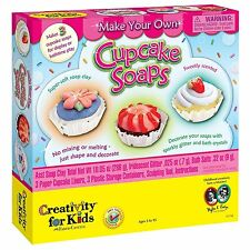 Soap Arts & Crafts Mold Cupcake Creativity for Kids Make & Paint Soap Cake New