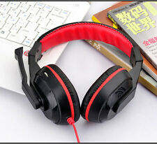 Gaming Stereo Headphones Headset Mic PC Computer KANGLING 770 Black&RED