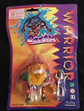 Ocean Warrior Action Figure Like Street Sharks KO Mannix