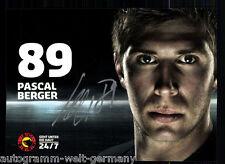 Pascal Berger SC Bern 2012-13 TOP AK Original Signiert Eishockey +A 58324