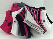 Women's TOMMY HILFIGER Bold Patterns COTTON Socks - 6 Pack - $36 MSRP - 25%