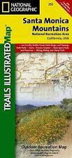 National Geographic Trails Illustrated CA Santa Monica Mountain Natl Rec Map 253