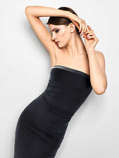 WOLFORD FATAL PRECIOUS DRESS • S • black  ...Kleid mit Funkeleffekt am Dekolleté