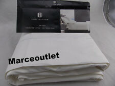 Hotel Collection 1000 Thread Count Supima Cotton QUEEN Flat Sheet White