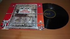 AC/DC High Voltage 1975 Aussie 1st Press LP Vinyl Blue Roo Broonzy OOP NM ROO ER