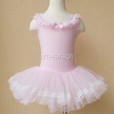 Kids Toddler Girls Ballet Dress Gymnastic Tutu Skirt Dancewear Leotard Costume