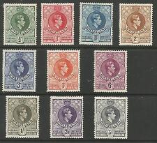 SWAZILAND BETSG28-38 THE 1938-54 SET TO 5/- FRESH MOUNTED MINT CAT £85+