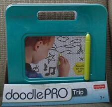 FISHER PRICE DOODLE PRO TRIP MAGNETIC DRAWING TRAVEL & PORTABLE AQUA CHP48 *NEW*