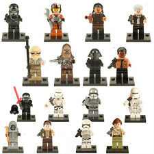 16pc/lot Star Wars 7 Minifigures The Force Awakens Captain Phasma Block TH01 NEW