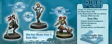 Infinity BNIB Dire Foes Mission Pack 3 Dark Mist (Caledonia VS Jap' Sect' Army)
