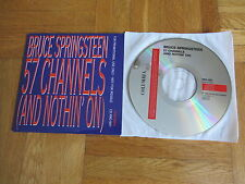 BRUCE SPRINGSTEEN 57 Channel (And Nothin On) 1992 EUROPEAN Promo CD single