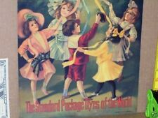 DIAMOND DYE CABINET -- Replacement TIN SIGN -- Shows Hot Air Balloon ----- NICE
