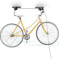 Supporto carrucola porta bici sospensione elevatore salva spazio bicicletta SCB1