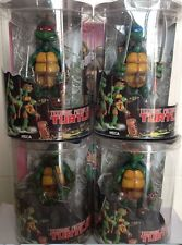 New 4pcs NECA 2014 TMNT TURTLES Teenage Mutant Ninja Turtles Figures Figurines