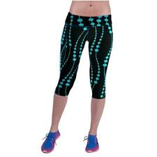 High Waist Fitness Yoga Sport Pants Printed Stretch Cropped Leggings GN Y5