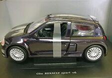 1:18 UNIVERSAL HOBBIES AUTO DIE CAST RENAULT CLIO SPORT V6 VIOLA       ART 4502