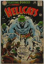 Our Fighting Forces #117 (Jan-Feb 1969, DC), NM, Lt. Hunter's Hellcats app.