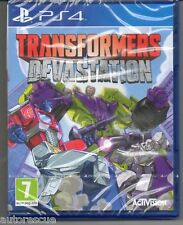 Transformers Devastation  'New & Sealed' FREE P&P  *PS4(Four)*