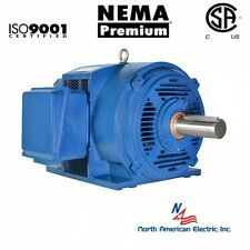 100 hp electric motor 404T 3 Phase 1785 rpm Open Drip Proof  208-230/460