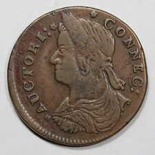 1787 31.2-r.3 R2 Connecticut Colonial Copper Coin