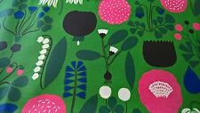 Marimekko AHONLAITA Laminated Cotton Oil Cloth Fabric Aino-Maija Metsola BTY!