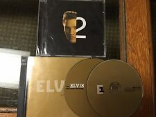 Elv1s: 30 #1 Hits Elvis Presley (CD) Bonus Post Army Interview CD & 2nd To None